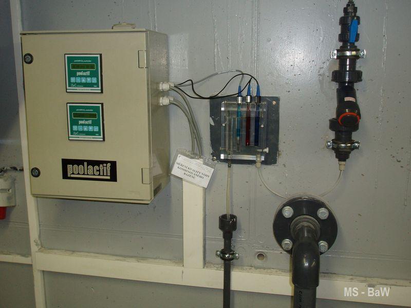 automatické sledování kvality vody